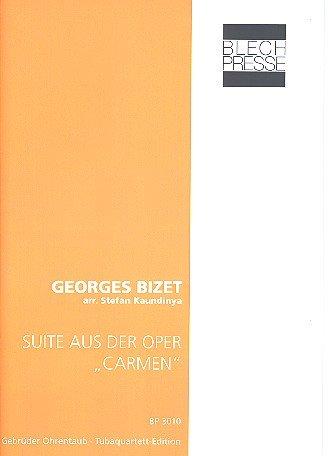 Sauite aus Carmen: für 2 Euphonien, Tuba in F und Tuba in B
