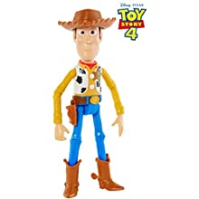 "Disney Pixar Toy Story 4 Woody Figure, 9.2"" Tall, Posable Character Figure for Kids 3 Years and Older​"