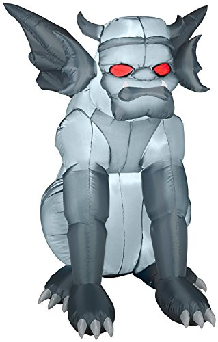 Halloween Airblown Yard Decoration: (Gargoyle Halloween)