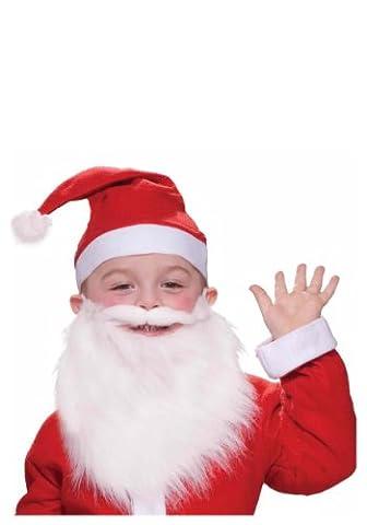 Forum Novelties, Inc Jungen Kind Santa Bart und Schnurrbart Standard