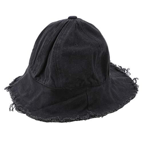 KYMLL Multi Farben Kinder Raw Edge Outdoor Sunhat für Jungen und Mädchen Big Visor Hut für Kinder