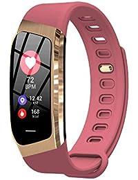 TOYBO Eignungsübung Übungsherzfrequenzüberwachungsuhr GPS-Bewegungsspurschritt wasserdichtes intelligentes Armband E18-red
