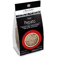 Il Boschetto Nachfüllbeutel Salzmischung Pepato für Salzmühle, 2er Pack (2 x 200 g)