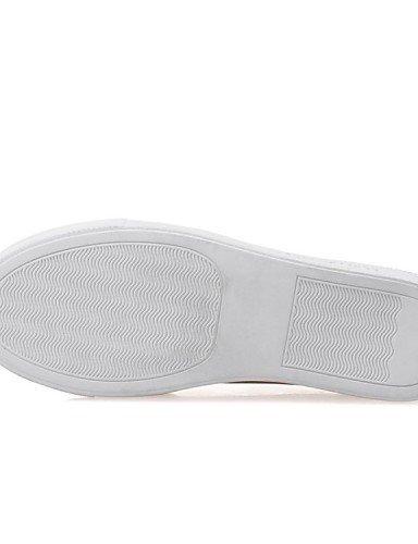 Shangyi Gyht Chaussures Femme - Mocassins - Loisirs / Bureau Et Travail / Formel / Décontracté / Sportif - Confortable / Bout Arrondi - Flat -flash Black