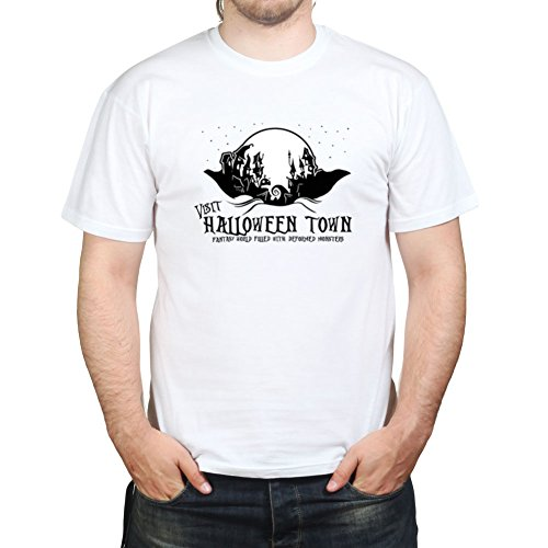 Visit Halloween Ghost Town A Christmas Nightmare T-shirt (Halloween Ghost Town)