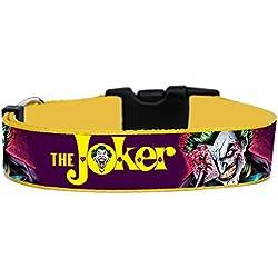 The Joker Batman Collar Perro Hecho a Mano Talla L con Correa a juego de 180 cm Dog Collar HandMade