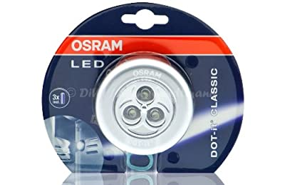 Osram DOT-it classic LED-Leuchte Silber (WE1) von Osram GmbH bei Lampenhans.de