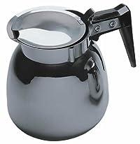 Update International (DSS-12/BK) 64 Oz Stainless Steel Decanter for Regular Coffee