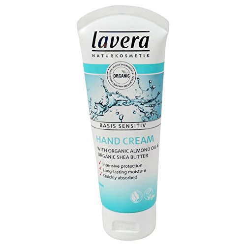 LAVERA - Crema Mani Biologica - Con Burro di Karitè, Olio di Mandorle e Jojoba - Protettiva ed Idratante