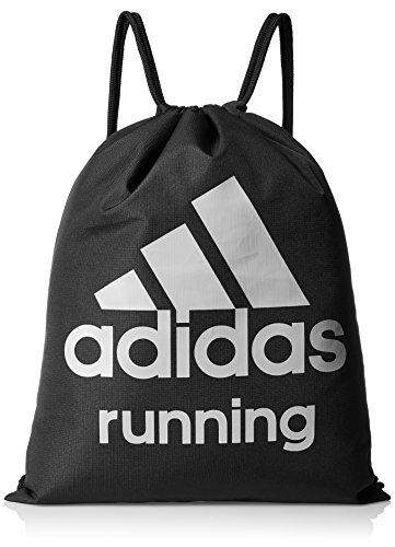 Adidas Run Gym Bag - Bolsa, Color Negro/Gris