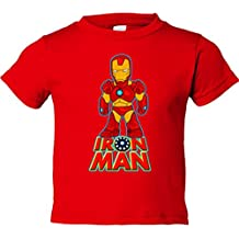 Camiseta niño Iron Man traje