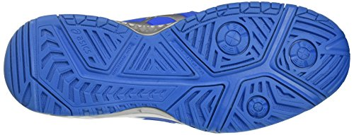 Asics Gel-resolution 7, Chaussures De Tennis Pour Homme Bleu (directoire Bleu / Argent / Blanc)