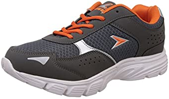 Power Men's Xavi Grey Running Shoes - 8 UK/India (42 EU)(8392123)