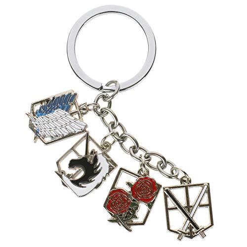 CoolChange Attack on Titan Schlüsselanhänger mit Wappen der ()