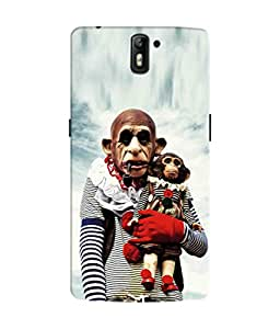 Sketchfab Cartoon Latest Design High Quality Printed Designer Back Case Cover For OnePlus One / One Plus 1