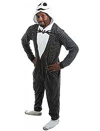 Nightmare Before Christmas Jack Skellington Union Suit Costume Pyjamas   S
