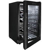 Lacor Black Line 69175 - Armario refrigerador, 28 botellas, 70 W, 65 litros