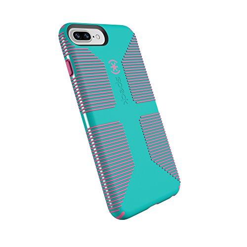 Shell Grip Handyhülle für iPhone 8 Plus/7 Plus/6S Plus/6 Plus Caribbean Blue/Bubblegum Pink, Caribbean Blue/Bubblegum Pink ()