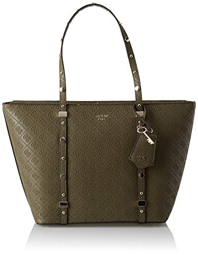 Guess - Coast To Coast, Bolsos totes Mujer, Verde (Olive/Olv), 46x28x12.5 cm...