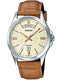 Casio Enticer Men's Analog Gold Dial Men's Watch - MTP-1381L-9AVDF (A1133)