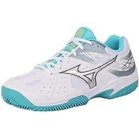 Mizuno Break Shot 2 CC, Zapatillas de Tenis para Mujer, Blanco (White/