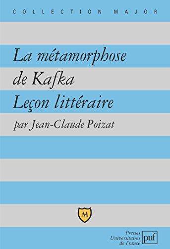 La Métamorphose de Kafka : Leçon littéraire