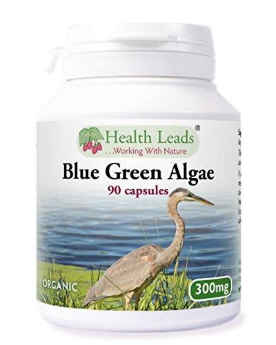 organic-klamath-blue-green-algae-300mg-x-90-capsules-100-additive-free-supplement