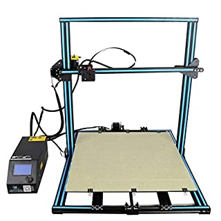 3D Printer Professionelle 3D Drucker, LCD Display 3D Desktop Mehrsprachige 3D Drucker Aluminium Kits, Hochpräzise Selbstmontage, Desktop 3D Drucker DIY 3D Drucker Kit