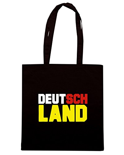 T-Shirtshock - Borsa Shopping OLDENG00506 german deutsch germany Nero