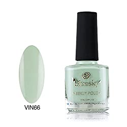 Bluesky One Week Number 66 7 Day Air Dry Nail Polish 15ml, Mint Convertible