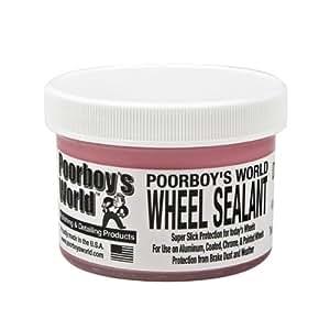 Poorboy's World Mastic d'étanchéité de roue avec applicateur et chiffon en microfibre