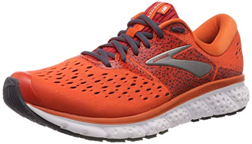 Brooks Glycerin 16, Scarpe da Running Uomo, Arancione (Orange/Red/Ebony 807), 44 EU