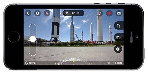 Parrot Jumping Sumo Minidrone (WiFi, Wide Angled Kamera) schwarz - 5