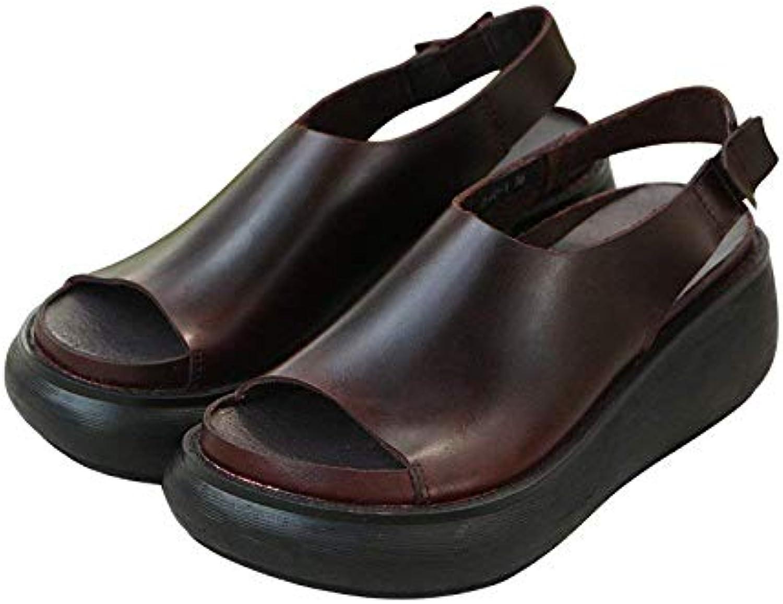 Y ONG Fibbia a Un Bottone Open Toe New Sandals Donna Estate Scarpe col Tacco Alto con Fine Round Head Moda Scarpe... | Negozio online di vendita  | Uomo/Donne Scarpa
