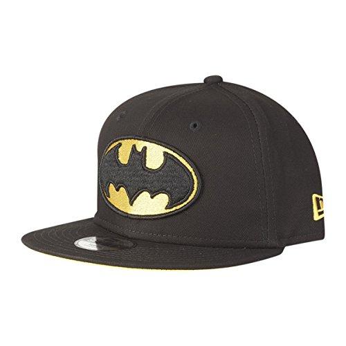 New Era Team Classic 9Fifty Kinder Snapback Cap Batman Schwarz, Size:Youth - Jungen Hüte Era New