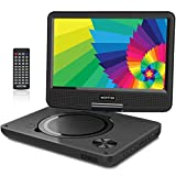 Best Portable Dvd Players - WONNIE 9.5 Inch Portable DVD Player with Swivel Review