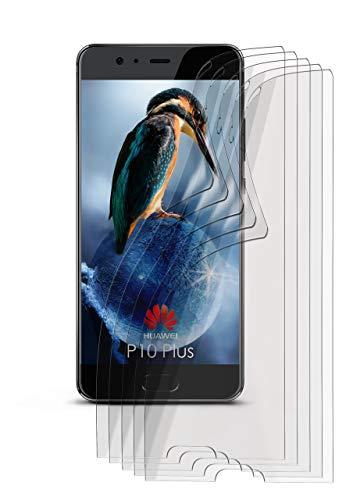 5X Huawei P10 Plus | Schutzfolie Matt Bildschirm Schutz [Anti-Reflex] Screen Protector Fingerprint Handy-Folie Matte Bildschirmschutz-Folie für Huawei P10 Plus Bildschirmfolie