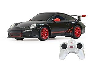 Jamara 404095 Porsche GT3 RS - Coche radio control (escala 1:24, 40 MHz), color negro importado de Alemania