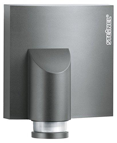 Steinel Bewegungsmelder IS NM 360 anthrazit, mit Dämmerungssensor, 360° Sensor, max. 8 m, für Hausfronten und Einfahrten 360-sensor