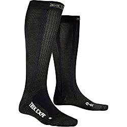 X-Socks Funktionssocken Trekking Expedition Long Socken, Anthracite, 35/38