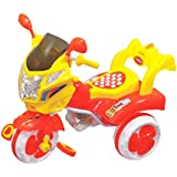 Her Home Comet Bike / Scooter / Tricycle For Kids With LED Lights And Music For Kids