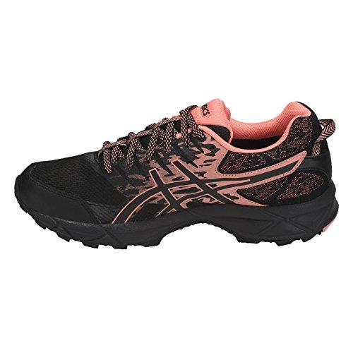 Asics Damen Gel-Sonoma 3 G-TX Traillaufschuhe Mehrfarbig (Black/begonia Pink/black 9006)