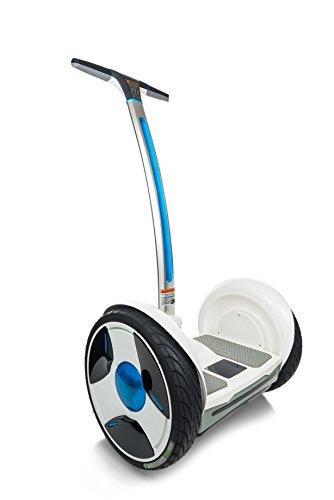 Ninebot by selbstbalancierender und +, Scooter Elektro Unisex Erwachsene M Bianco - 2