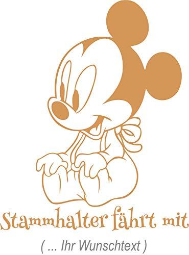 Kinder/Babyaufkleber - Wandtattoo ***BOY 02 - MIT IHREM WUNSCHTEXT*** freie Schrift.-Größen & Farbauswahl - Wandtattoos Disney Boy