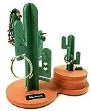 Grimm Peace - Joyero Hecho a Mano con Forma de Cactus, para Pendientes, Anillos, Soporte Organizador