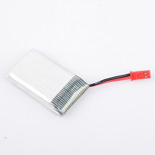 Lommer 5pcs 1000mah Lipo Batterie mit 5 in 1 Ladegerät und Sicherheit Explosionsgeschützte Tasche für MJX Hubschrauber T04 / T05 / T25 / M03 / F28 / F29 - 7