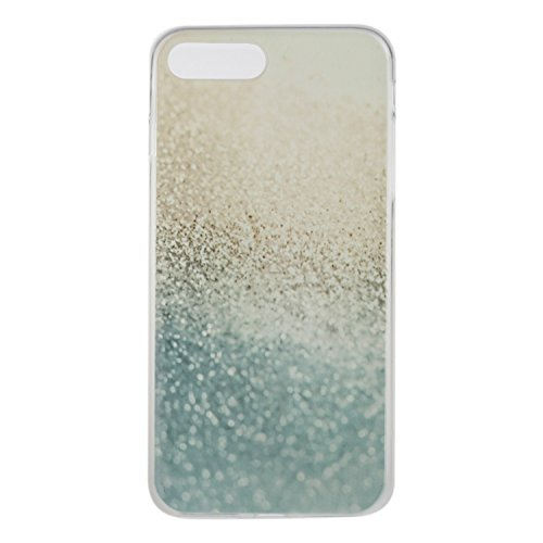 Ukayfe Custodia per iPhone 7/8 plus,UltraSlim TPU Gel Gomma Silicone Copertura Case per iPhone 7/8 plus,Crystal Clear Skin Custodia Stilosa custodia di design Protettiva Shell Case Cover antigraffio C Deserto