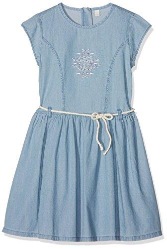 ESPRIT Mädchen Kleid, Blau (Blue Light Wash 415), Gr. (92/98)