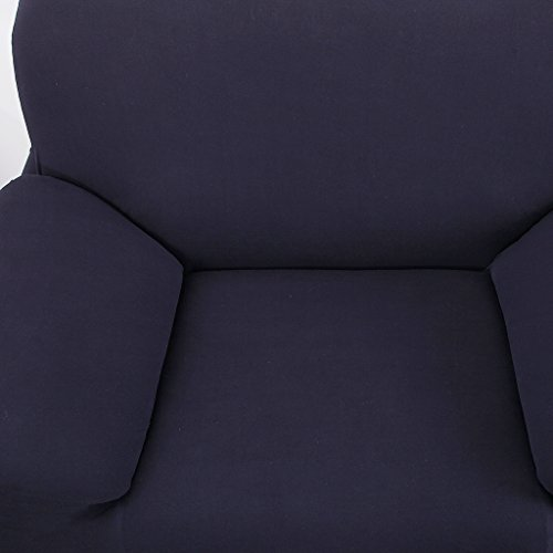 Magideal Spandex Stretch Single Sofa Couch Seat Cover Slipcover Case Home Decor Navy