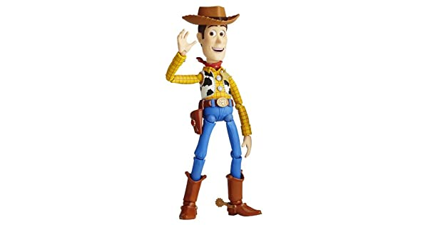 Toy Story Kaiyodo Sci-Fi Revoltech Woody Figure No.010 Toy Collection New in Box